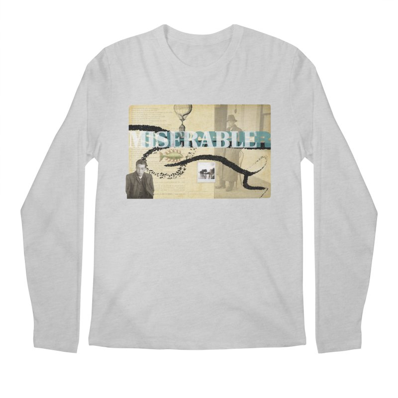 miserable sorcerer Men's Longsleeve T-Shirt by mcardwell's Artist Shop