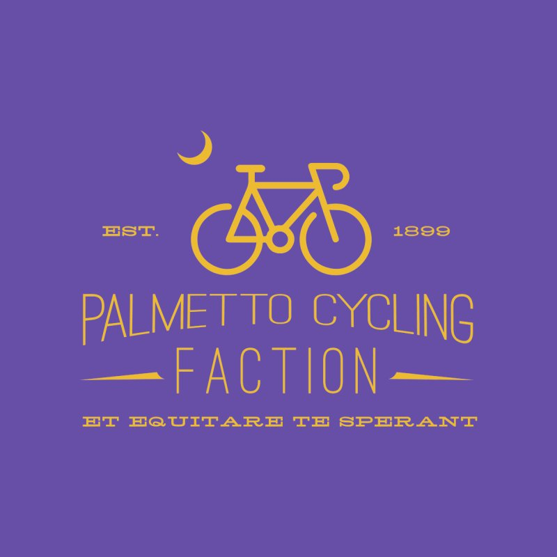 palmetto cycling Women's T-Shirt by mcardwell's Artist Shop
