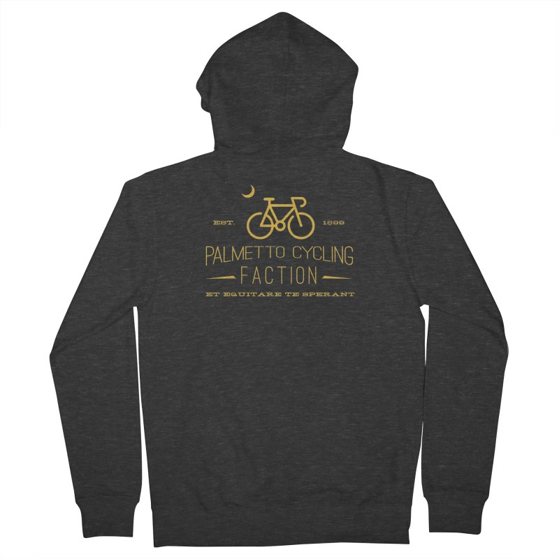 palmetto cycling faction 1 Women's Zip-Up Hoody by mcardwell's Artist Shop