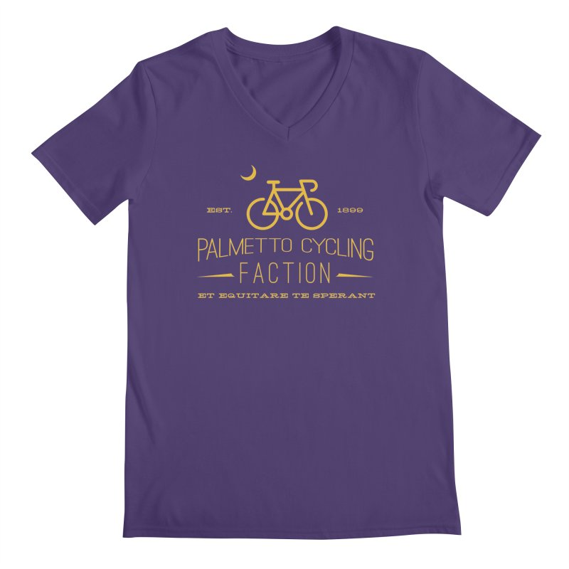 palmetto cycling faction 1 Men's V-Neck by mcardwell's Artist Shop