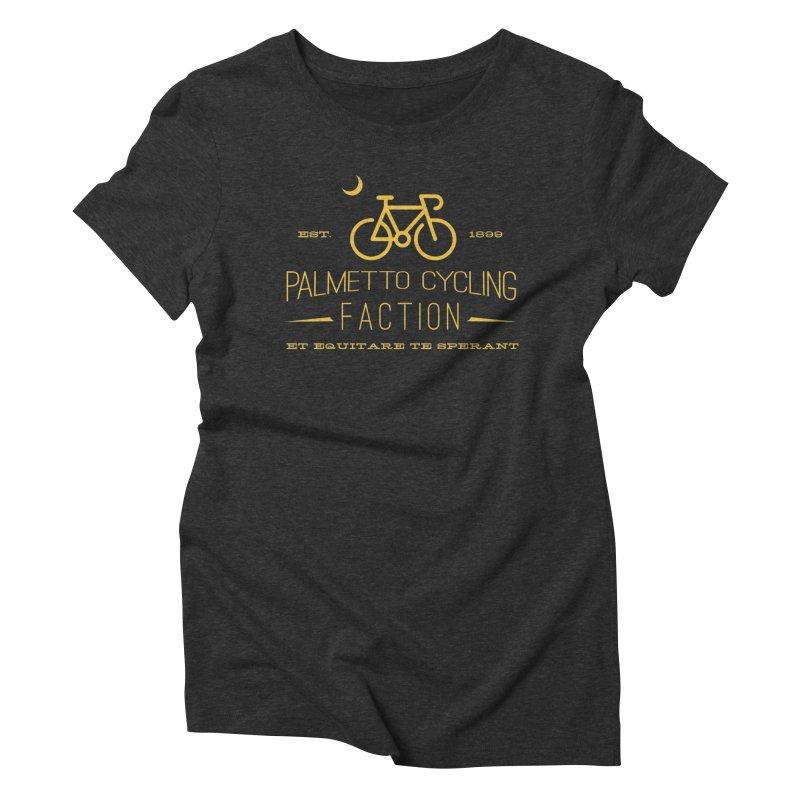 palmetto cycling Women's Triblend T-Shirt by mcardwell's Artist Shop