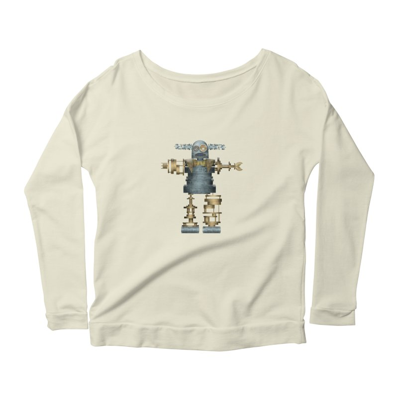 that's mister robot Women's Scoop Neck Longsleeve T-Shirt by mcardwell's Artist Shop