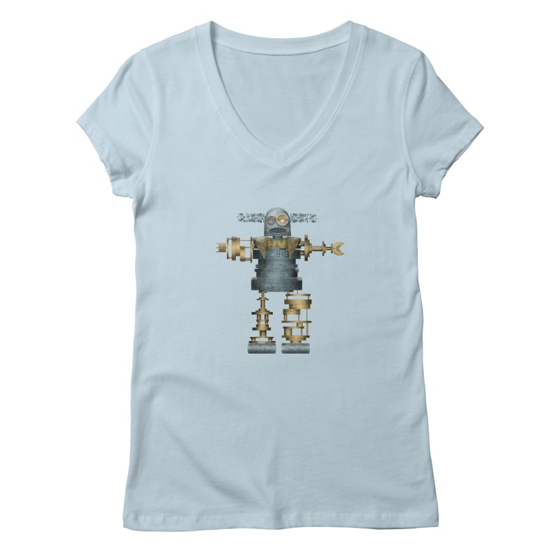 that's mister robot Women's Regular V-Neck by mcardwell's Artist Shop