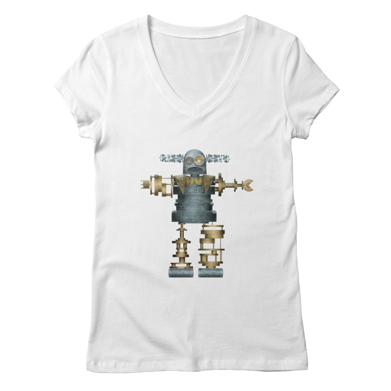 that's mister robot Women's V-Neck by mcardwell's Artist Shop