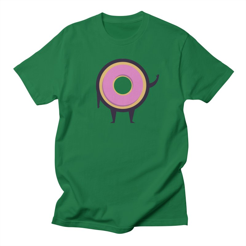 Friendly Donut Men's T-shirt by Lush Taco