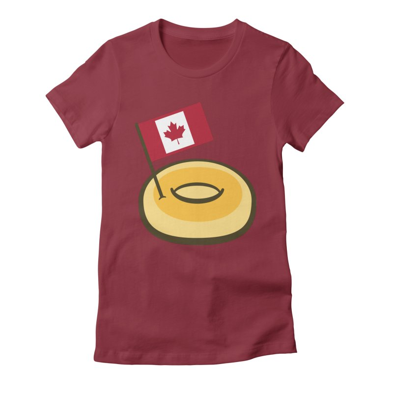 Timmy's Women's Fitted T-Shirt by Barbell Buffet