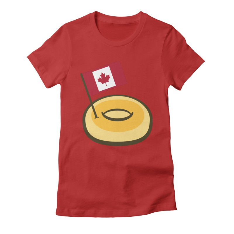 Timmy's Women's Fitted T-Shirt by Lush Taco