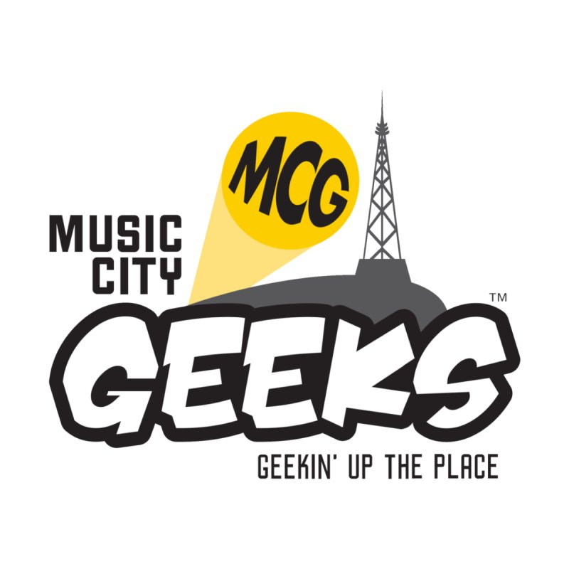 MCG Logo Men's V-Neck by Music City Geeks' Store