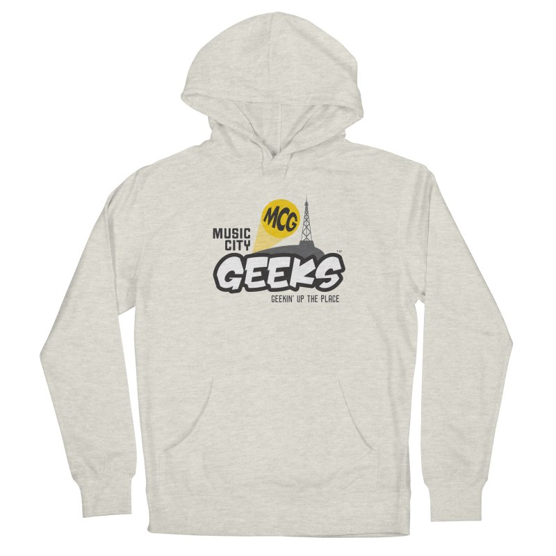 MCG Logo Men's Pullover Hoody by Music City Geeks' Store