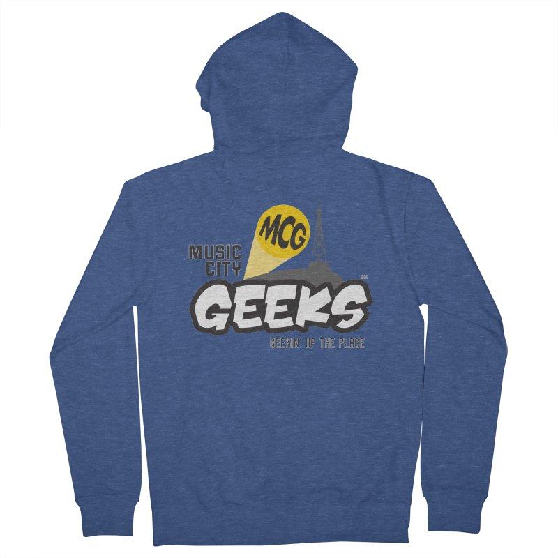 MCG Logo Women's Zip-Up Hoody by Music City Geeks' Store