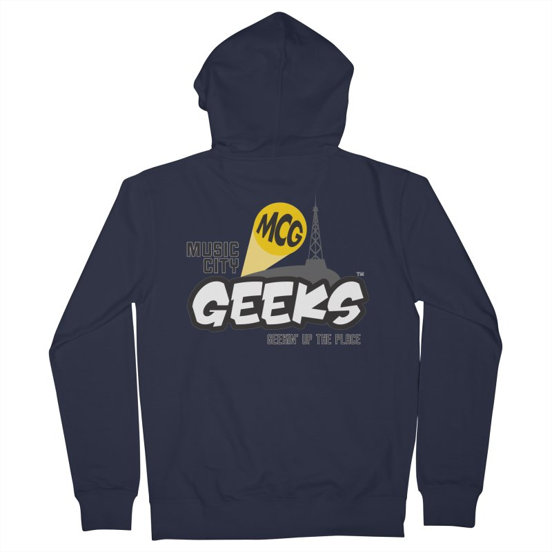 MCG Logo Women's Zip-Up Hoody by Music City Geeks' Store
