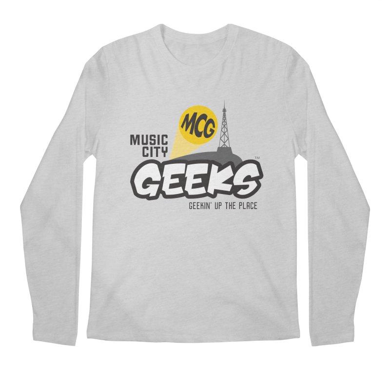 MCG Logo Men's Longsleeve T-Shirt by Music City Geeks' Store