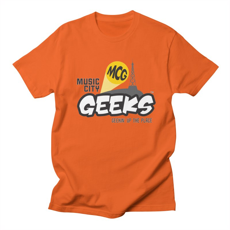 MCG Logo Men's T-Shirt by Music City Geeks' Store