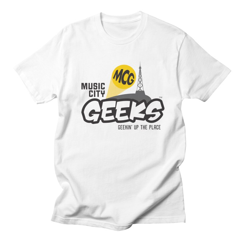 MCG Logo Men's T-Shirt by Music City Geeks' Store