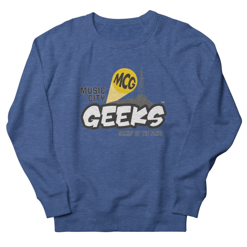 MCG Logo Women's Sweatshirt by Music City Geeks' Store