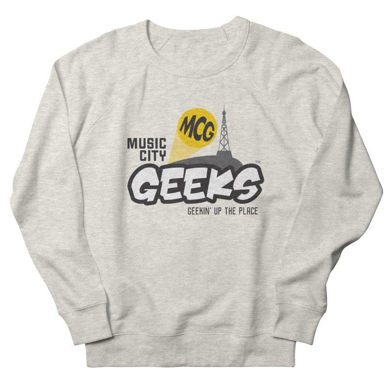 MCG Logo Men's Sweatshirt by Music City Geeks' Store