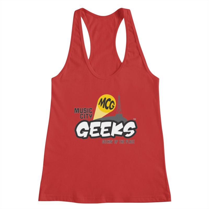 MCG Logo Women's Tank by Music City Geeks' Store