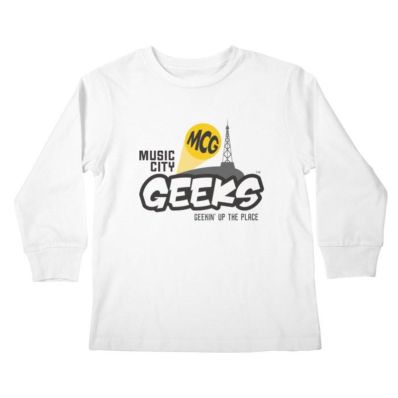 MCG Logo Kids Longsleeve T-Shirt by Music City Geeks' Store