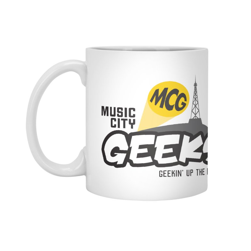 MCG Logo Accessories Mug by Music City Geeks' Store