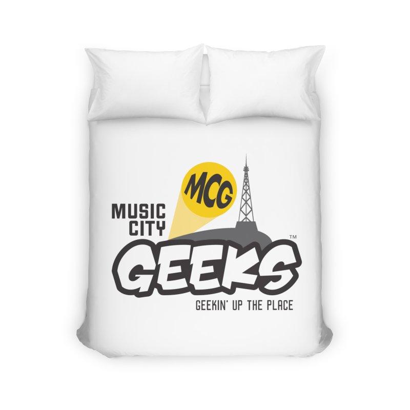 MCG Logo Home Duvet by Music City Geeks' Store