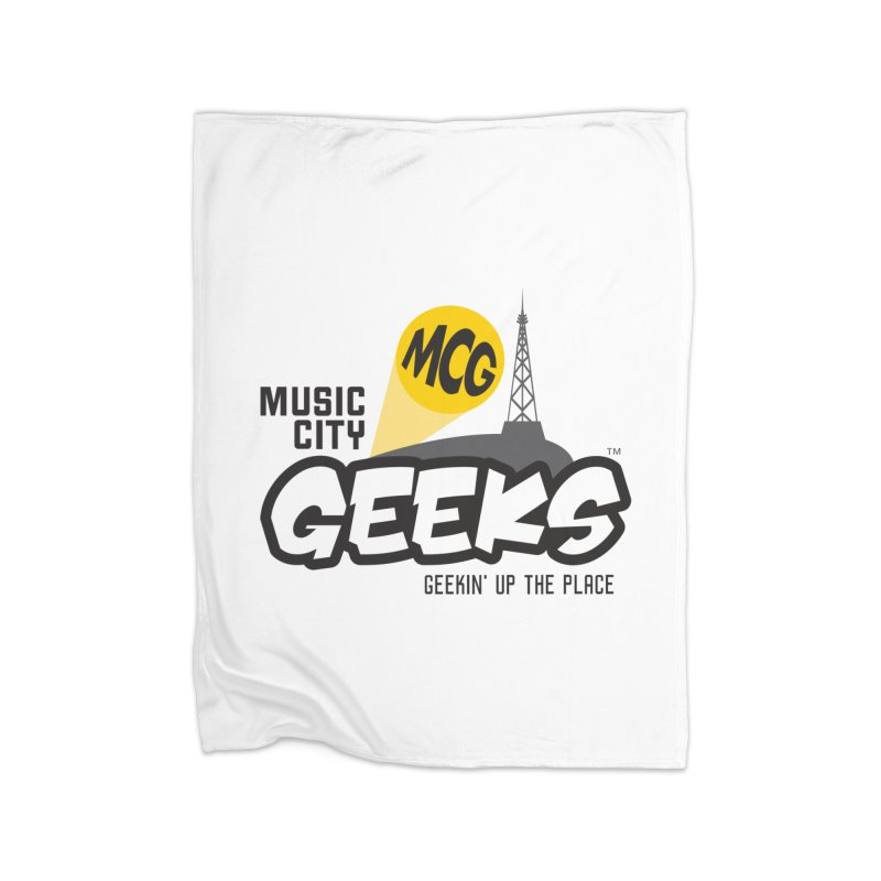 MCG Logo Home Blanket by Music City Geeks' Store