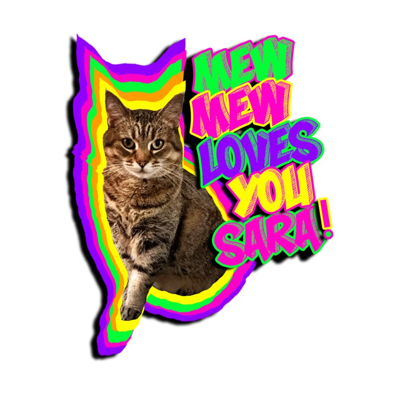 Mew Mew Loves You Men's T-Shirt by MCGILSKY DESIGN SHOP