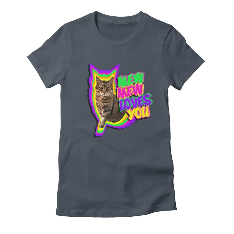 Mew Mew Loves You! Women's T-Shirt by MCGILSKY DESIGN SHOP
