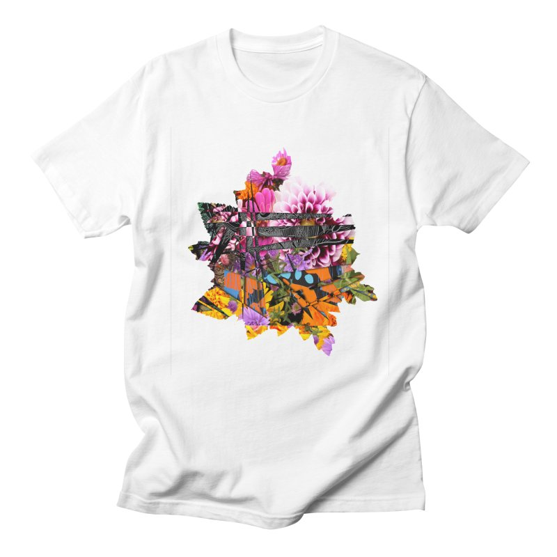 Abstract Flower Men's T-Shirt by MCGILSKY DESIGN SHOP