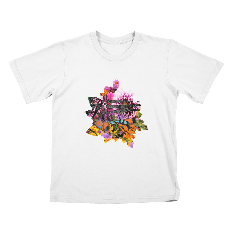 Abstract Flower Kids T-Shirt by MCGILSKY DESIGN SHOP