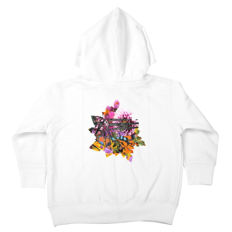 Abstract Flower Kids Toddler Zip-Up Hoody by MCGILSKY DESIGN SHOP