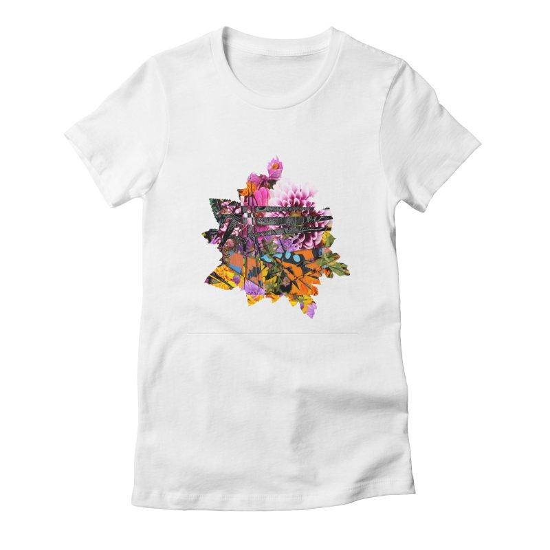 Abstract Flower Women's T-Shirt by MCGILSKY DESIGN SHOP