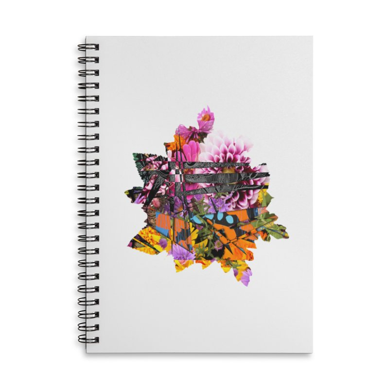 Abstract Flower Accessories Notebook by MCGILSKY DESIGN SHOP
