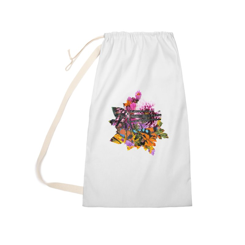 Abstract Flower Accessories Bag by MCGILSKY DESIGN SHOP