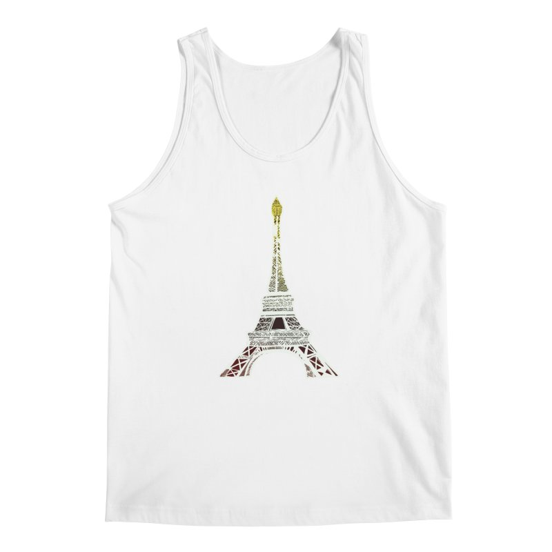 Eiffel Tower Men's Tank by MCGILSKY DESIGN SHOP