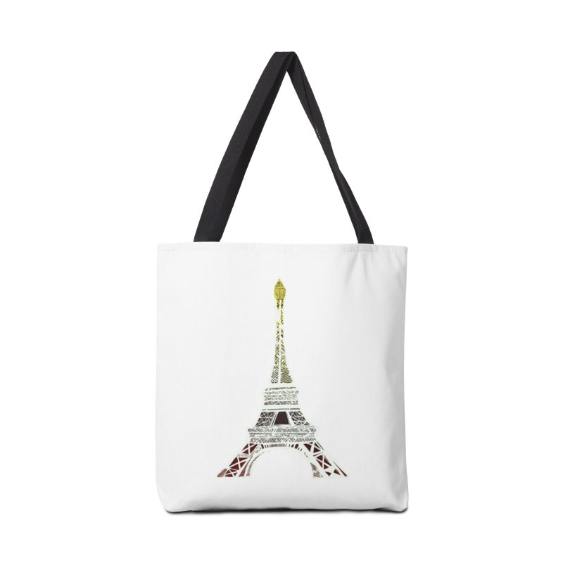 Eiffel Tower Accessories Bag by MCGILSKY DESIGN SHOP