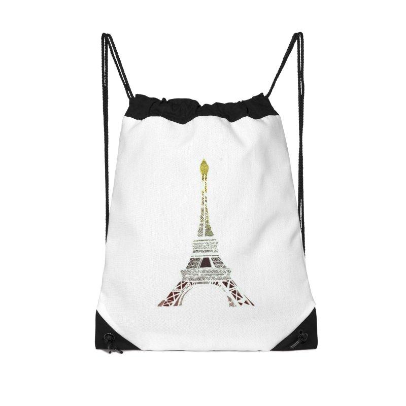Eiffel Tower Accessories Bag by MCGILSKY DESIGN SHOP