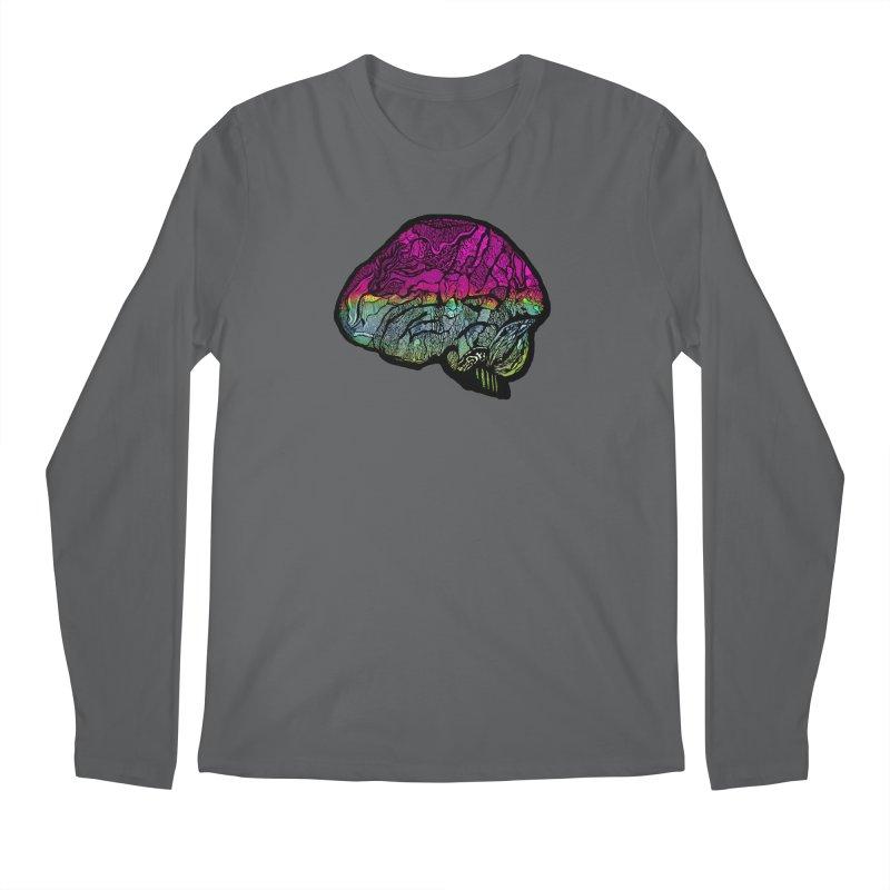 Solo Brain Men's Longsleeve T-Shirt by MCGILSKY DESIGN SHOP