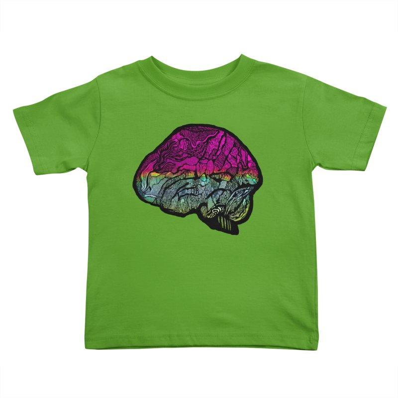 Solo Brain Kids Toddler T-Shirt by MCGILSKY DESIGN SHOP