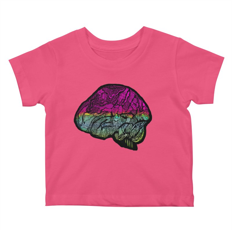 Solo Brain Kids Baby T-Shirt by MCGILSKY DESIGN SHOP