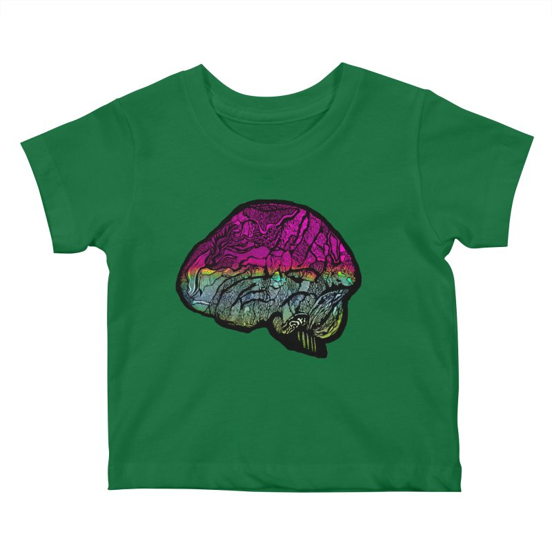 Solo Brain Kids Baby T-Shirt by MCGILSKY DESIGN SHOP