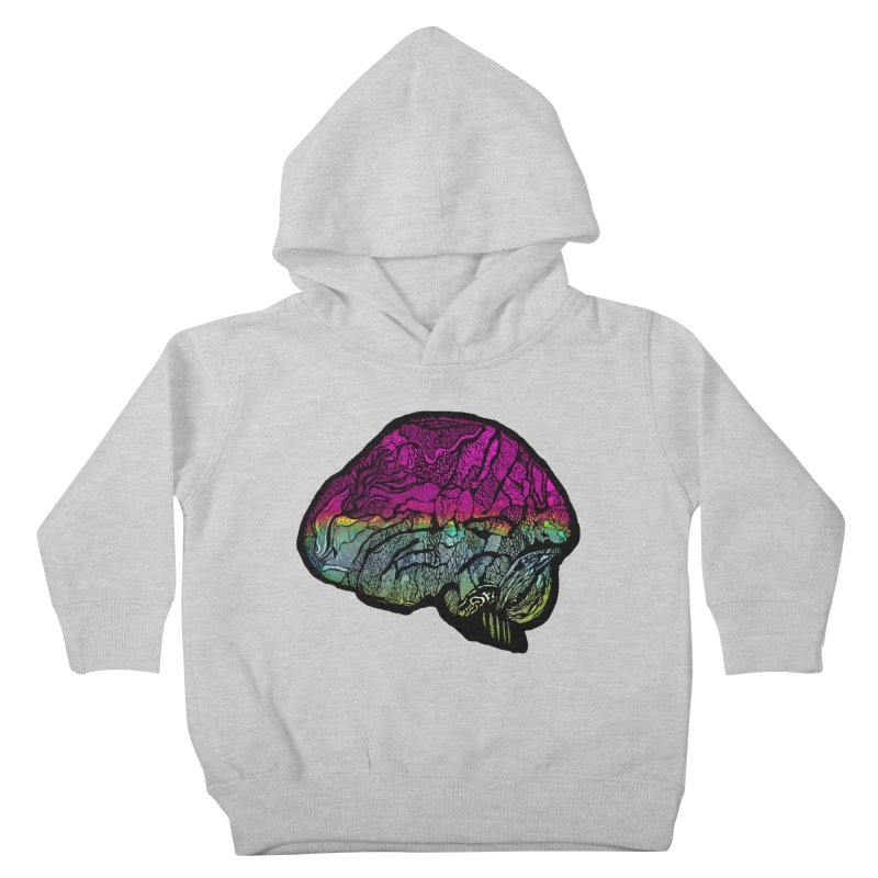 Solo Brain Kids Toddler Pullover Hoody by MCGILSKY DESIGN SHOP