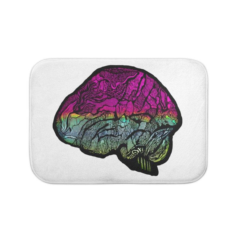 Solo Brain Home Bath Mat by MCGILSKY DESIGN SHOP