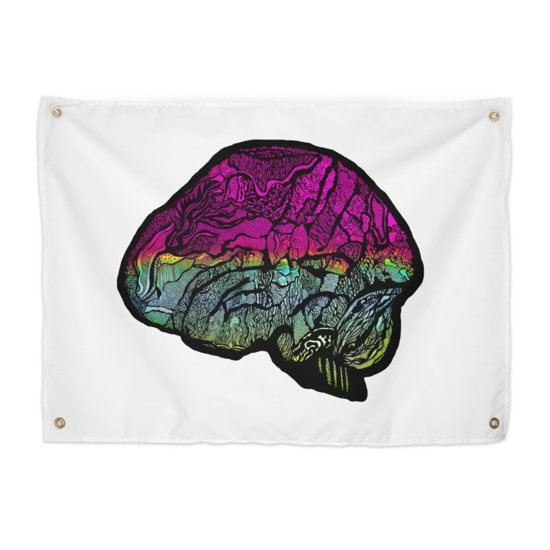 Solo Brain Home Tapestry by MCGILSKY DESIGN SHOP