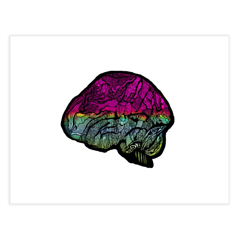 Solo Brain Home Fine Art Print by MCGILSKY DESIGN SHOP