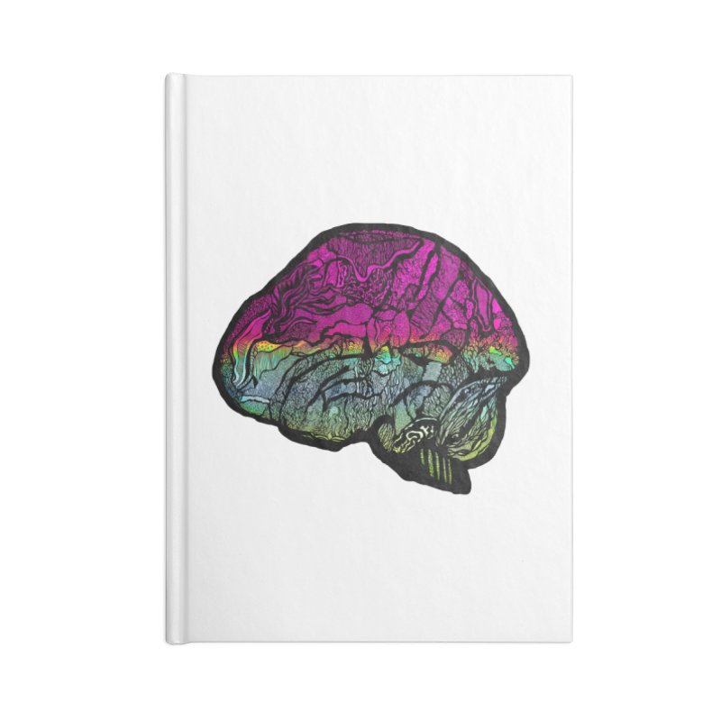 Solo Brain Accessories Notebook by MCGILSKY DESIGN SHOP