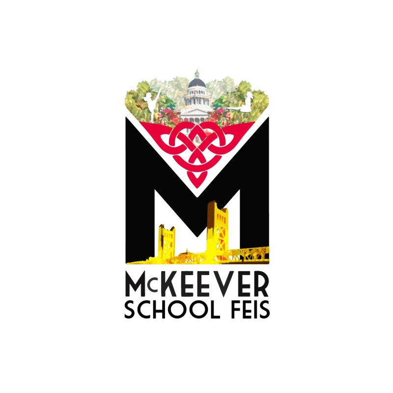 McKeever Feis Logo Tote Bag by McKeever School of Irish Dance Gear