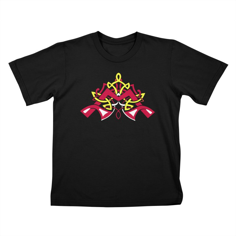 McKeever Celtic Knotwork - Kid Sizes Kids T-Shirt by McKeever School of Irish Dance Gear