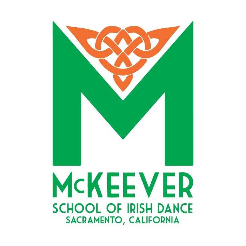 McKeever St. Patrick's Day - Kids White Shirts by McKeever School of Irish Dance Gear
