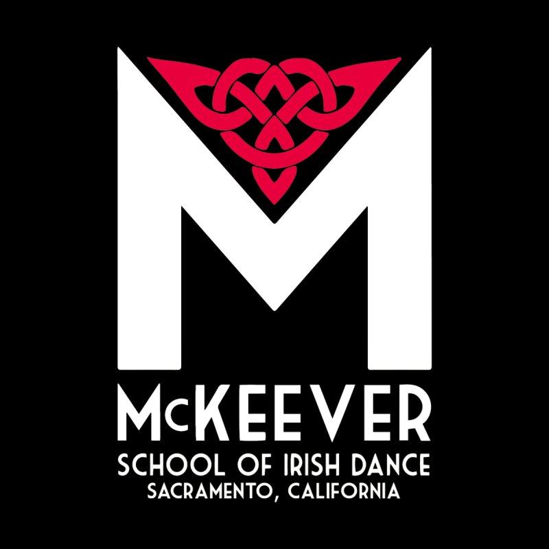 McKeever Logo Hoodie Men's Zip-Up Hoody by McKeever School of Irish Dance Gear