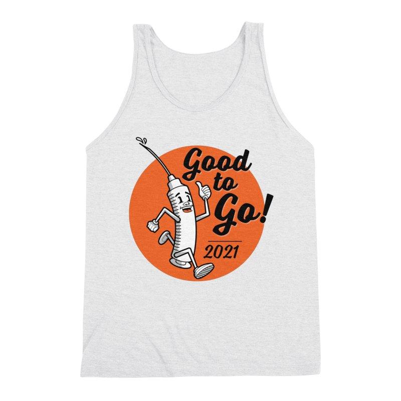 Lil' Vaxy is Good to Go! Men's Tank by mckibillo's Artist Shop